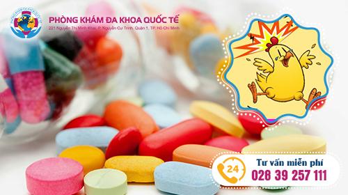 thuốc chữa sùi mào gà tại đa khoa quốc tế Hồ Chí Minh
