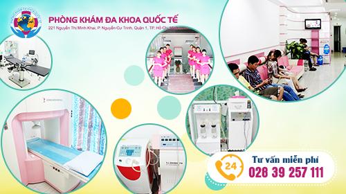 chữa sùi mào gà ở nữ tại đa khoa quốc tế Hồ Chí Minh