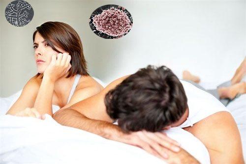 tác hại của mụn rộp sinh dục