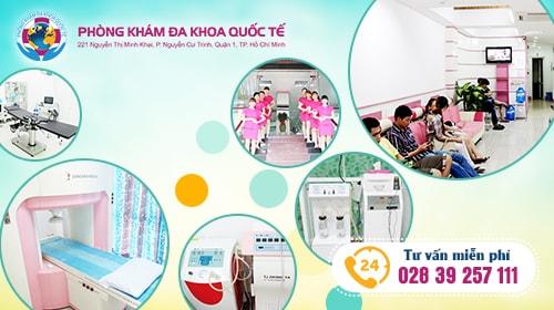 chữa viêm âm đạo tại đa khoa quốc tế Hồ Chí Minh