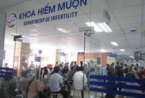 Khoa hiếm muộn bệnh viện Từ Dũ