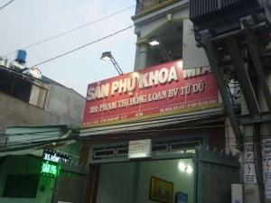 Phòng khám phụ khoa tư nhân của bs. Phạm Thị Hồng Loan